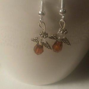 Handcrafted Angel Earrings